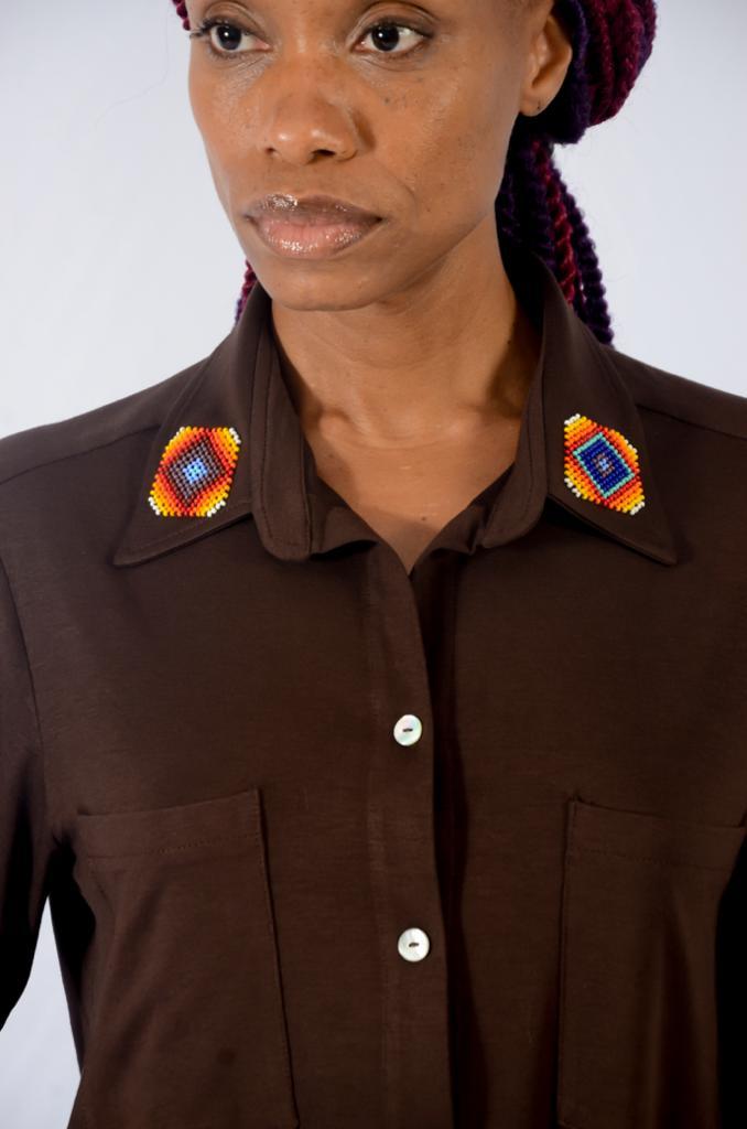 Camisa Integrar com Botões