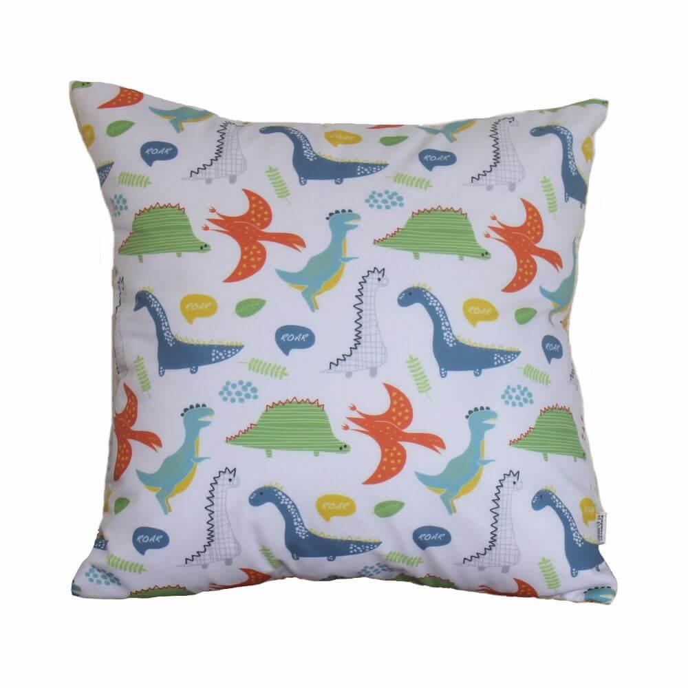 Almofada Decorativa Quadrada - Dinossauros