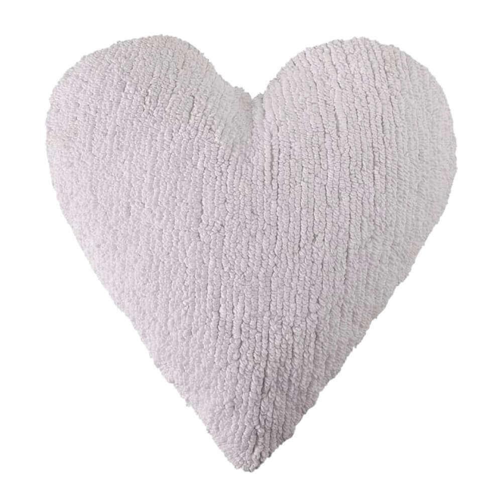 Almofada Infantil Lorena Canals Coração Branco
