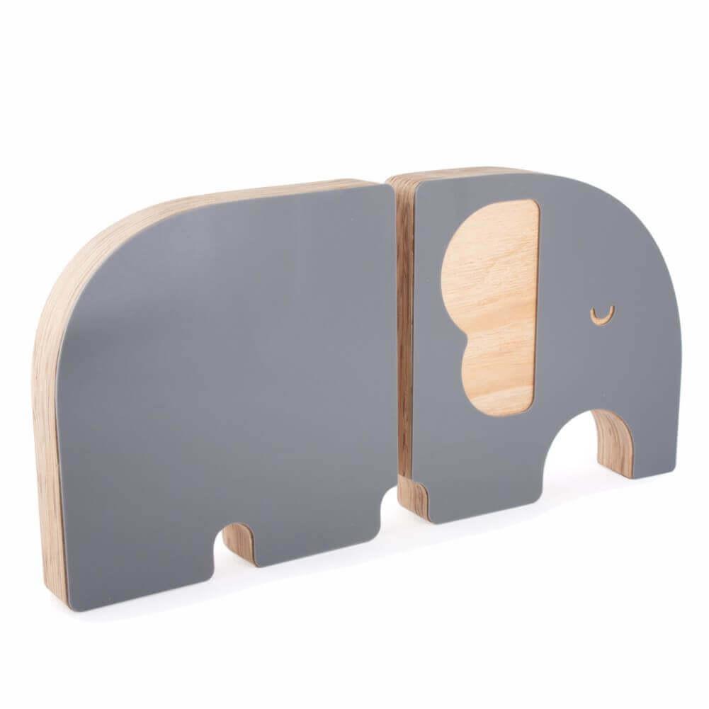 Aparador de Livros Elefante Cinza - Adot