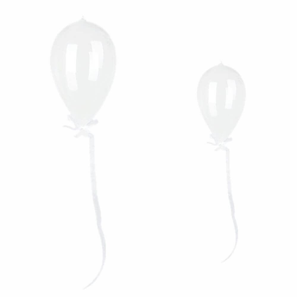 Balão Decorativo de Vidro Transparente (Unidade)