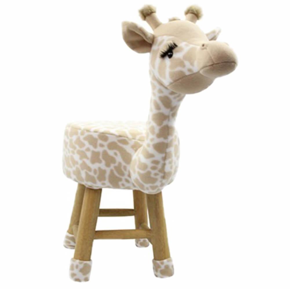 Banco Infantil de Pelúcia - Girafa