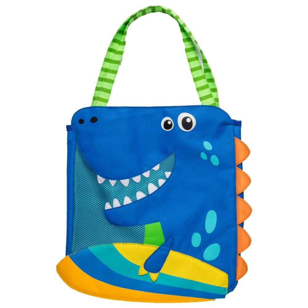 Bolsa de Praia Stephen Joseph Dinossauro Azul