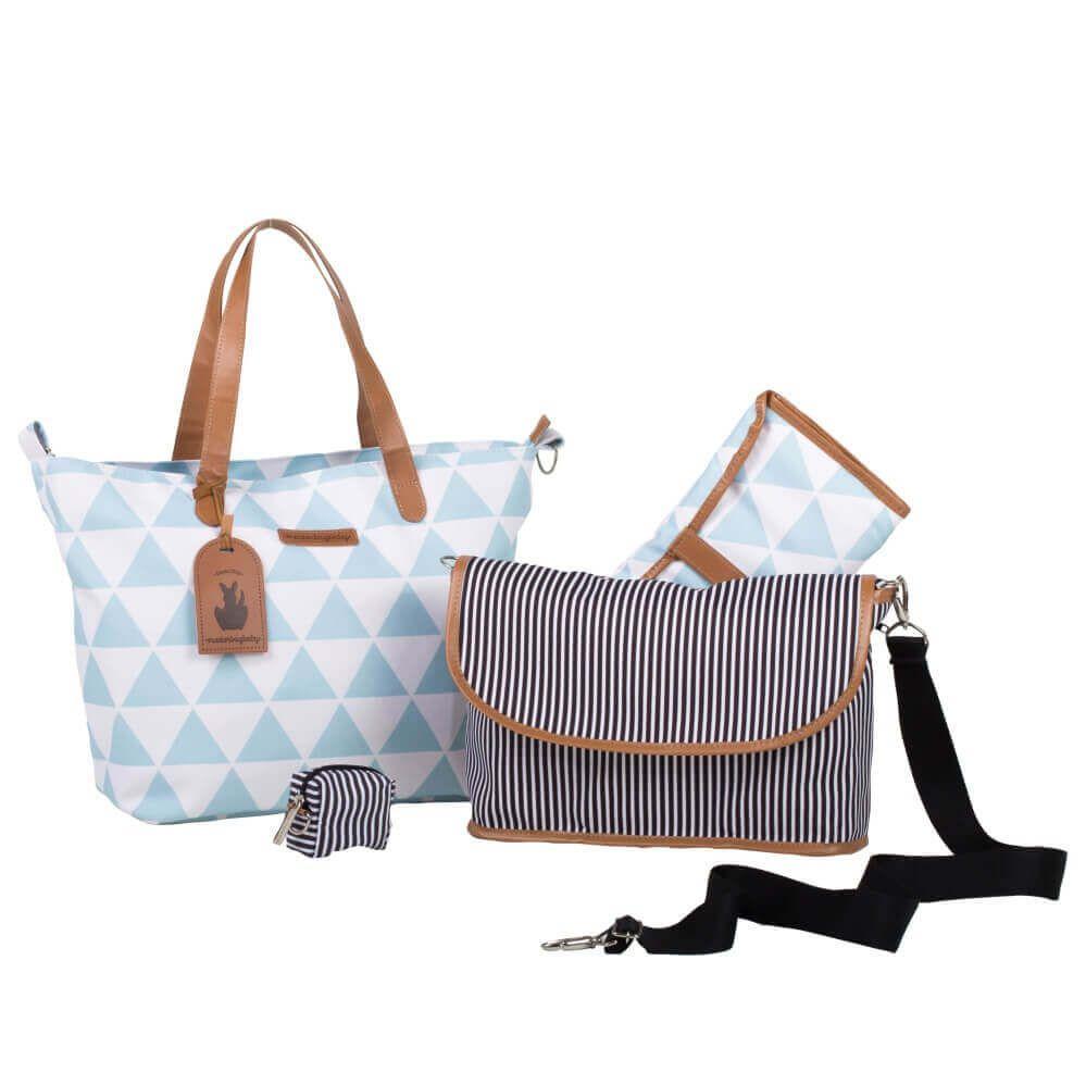 Bolsa Masterbag Baby Sofia Manhattan Azul