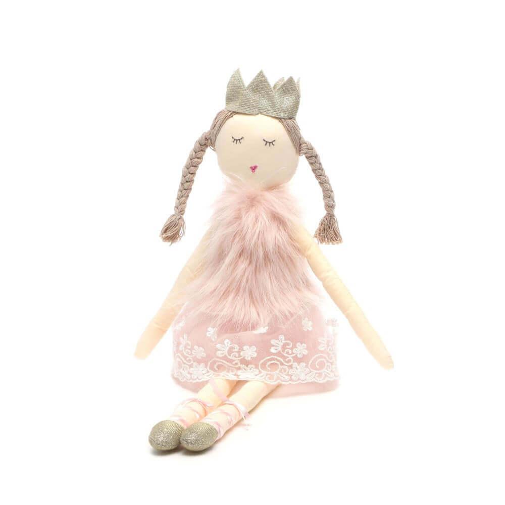 Boneca Infantil de Pano Bailarina Annabelle - Sam & Peas