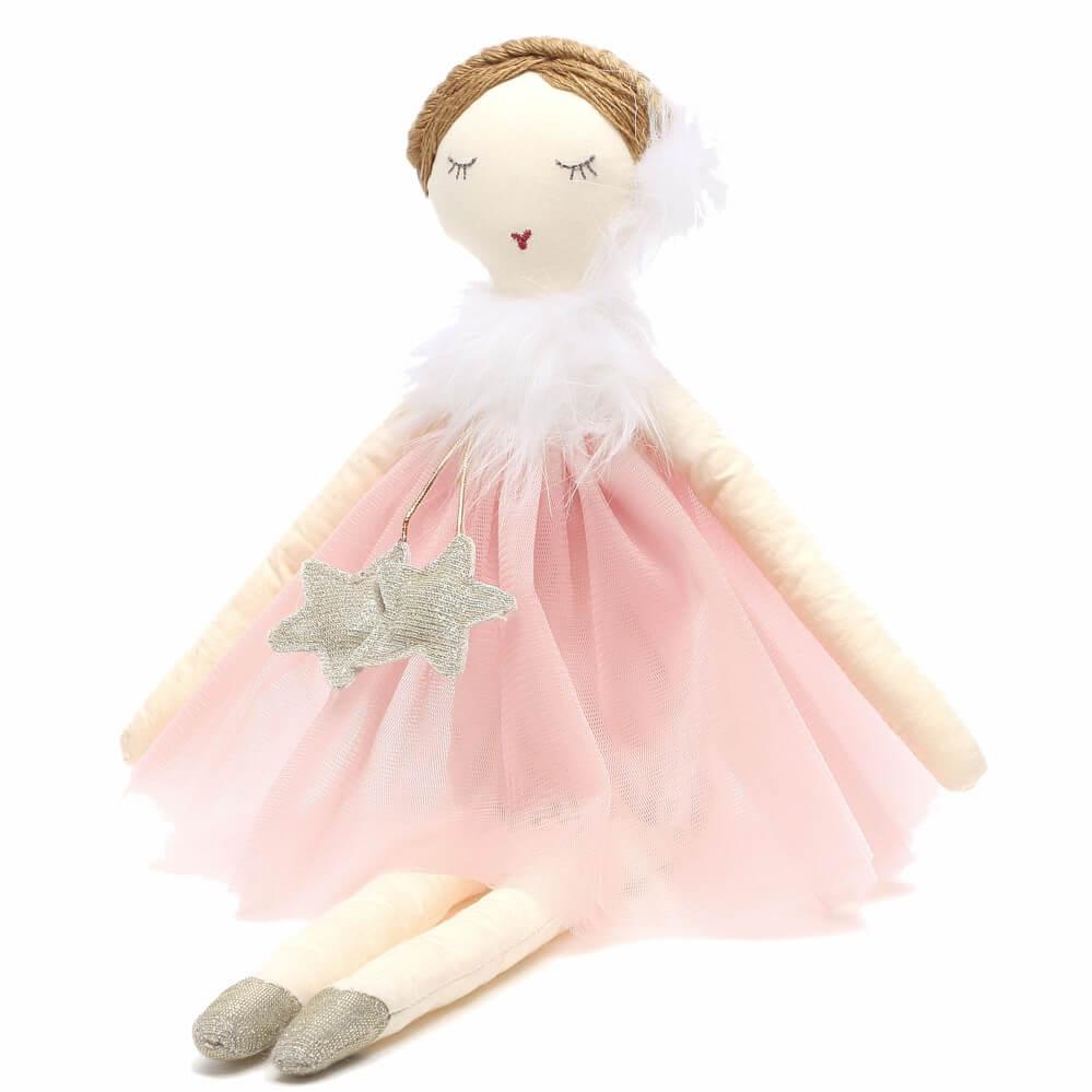 Boneca Infantil de Pano Eva - Sam & Peas