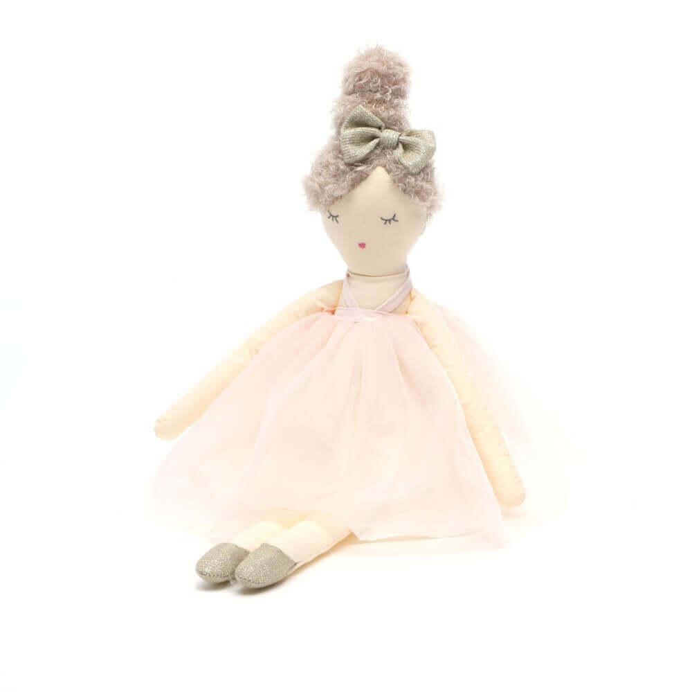 Boneca Infantil de Pano Flore - Sam & Peas