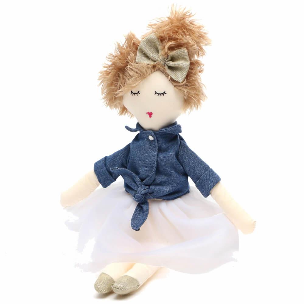 Boneca Infantil de Pano Nina - Sam & Peas