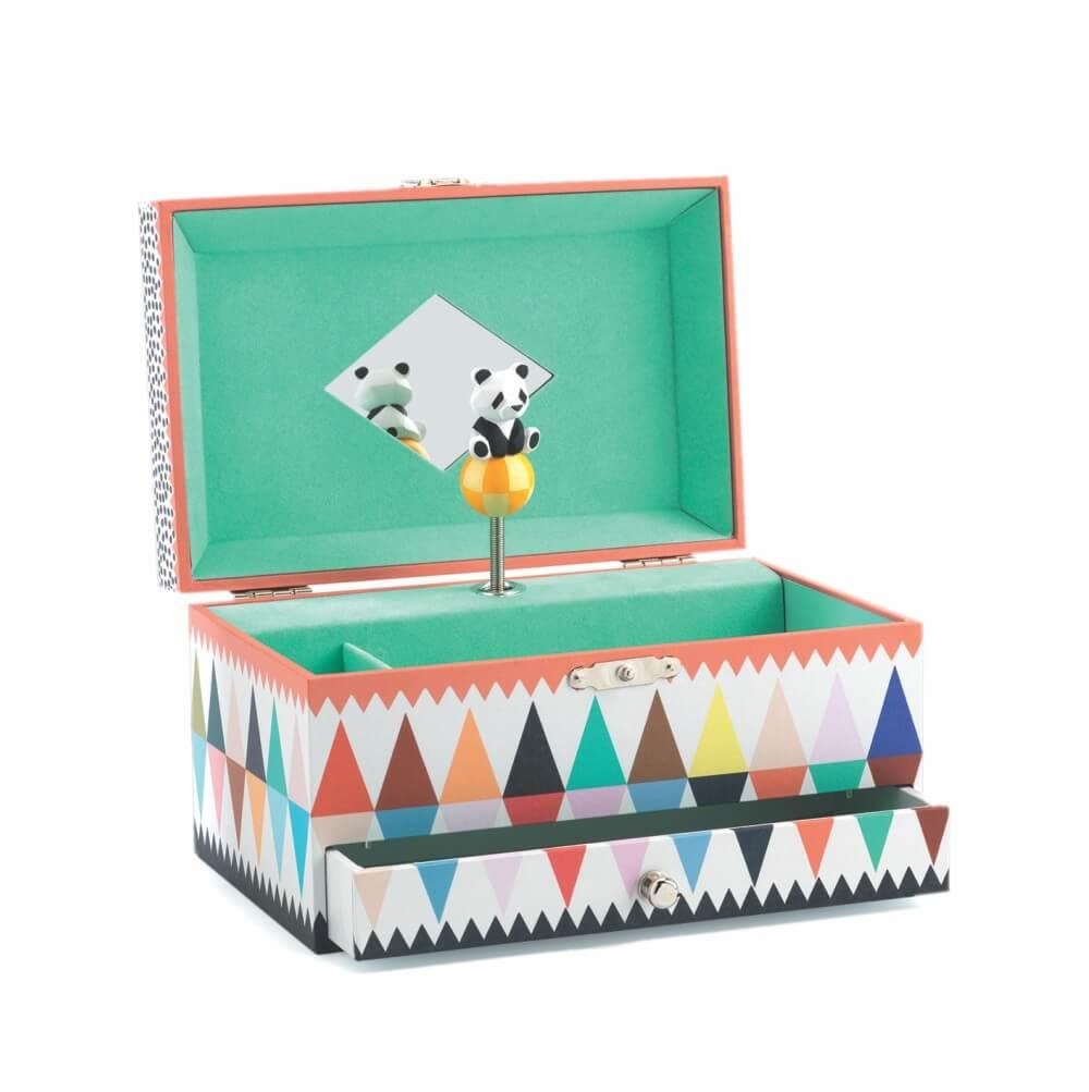 Caixa de Música Panda - DJECO