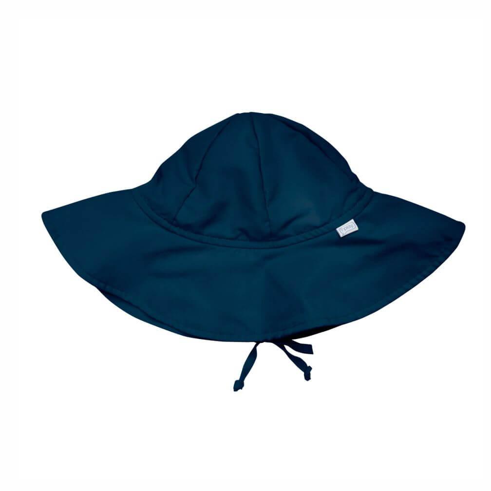 Chapéu de Sol iplay Infantil com FPS 50+ Azul Marinho