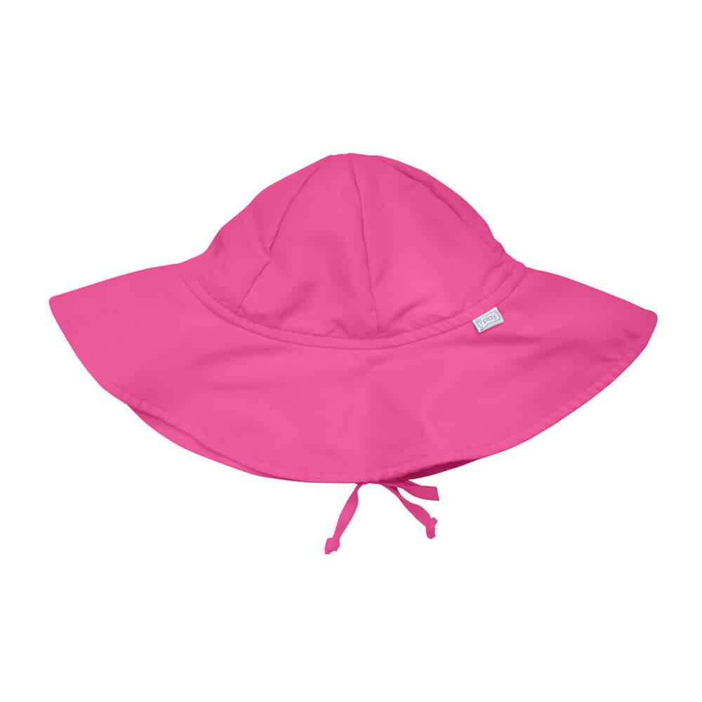 Chapéu de Sol iplay Infantil com FPS 50+ Rosa Forte