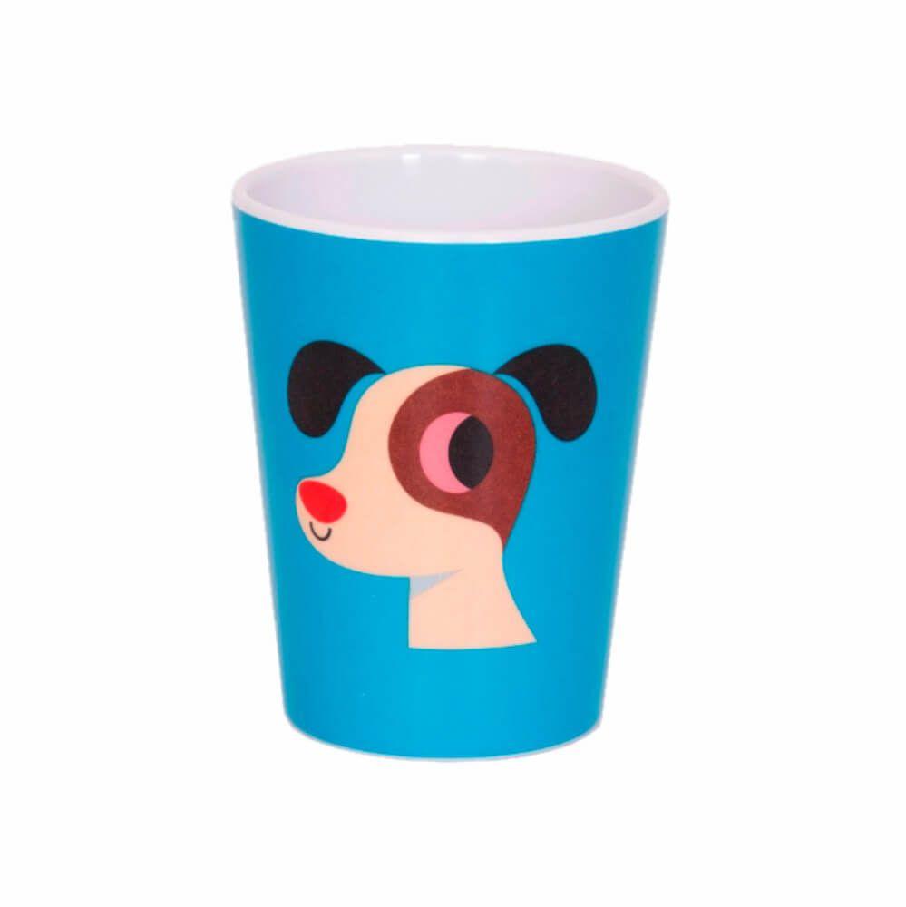 Copo Infantil de Melamina Cachorro - OMM Design