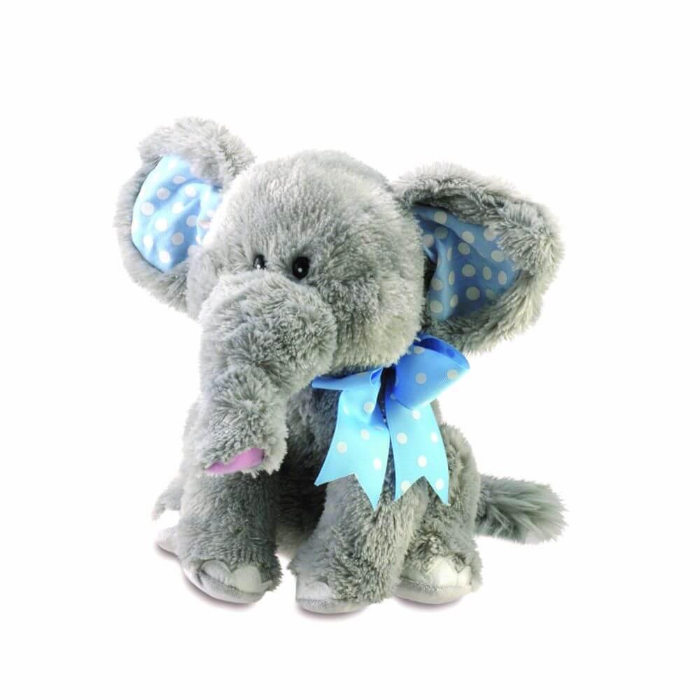 Elefante Musical Elliot de Pelúcia - Cuddle Barn