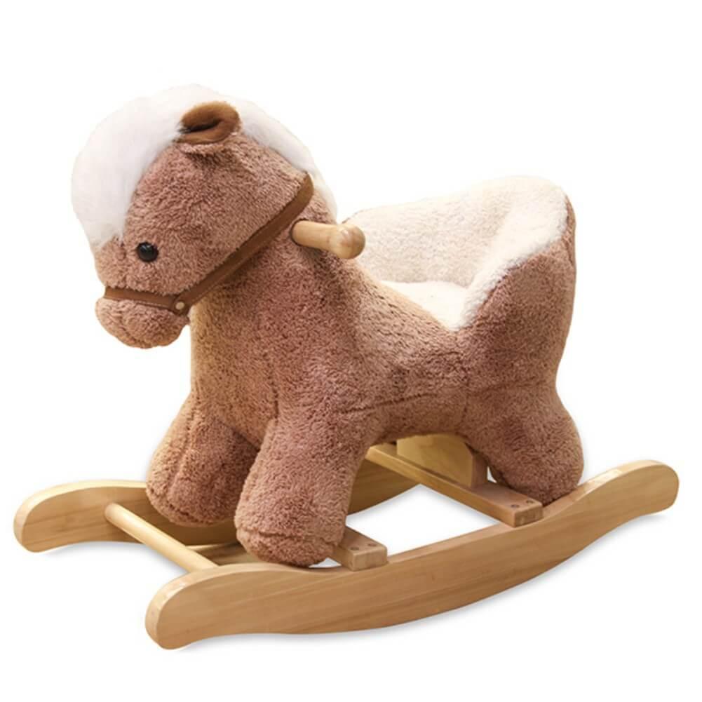 Escultura Musical de Balanço Cavalo