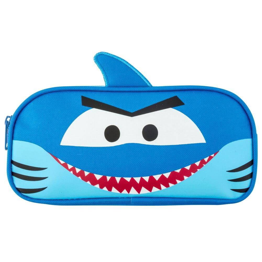 Estojo Escolar Infantil Tubarão Azul - Stephen Joseph