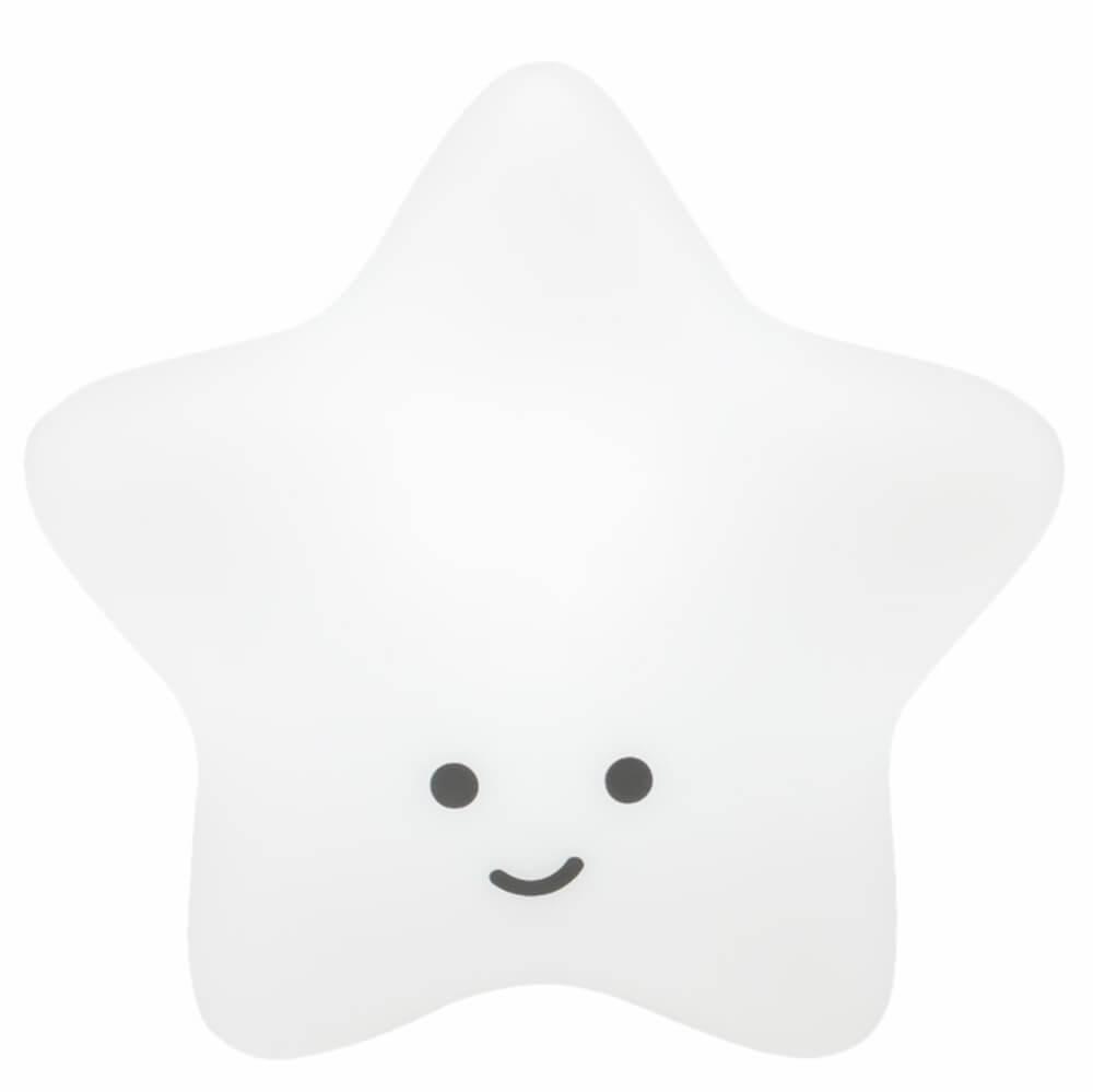 Estrela Decorativa Laqueada Branca