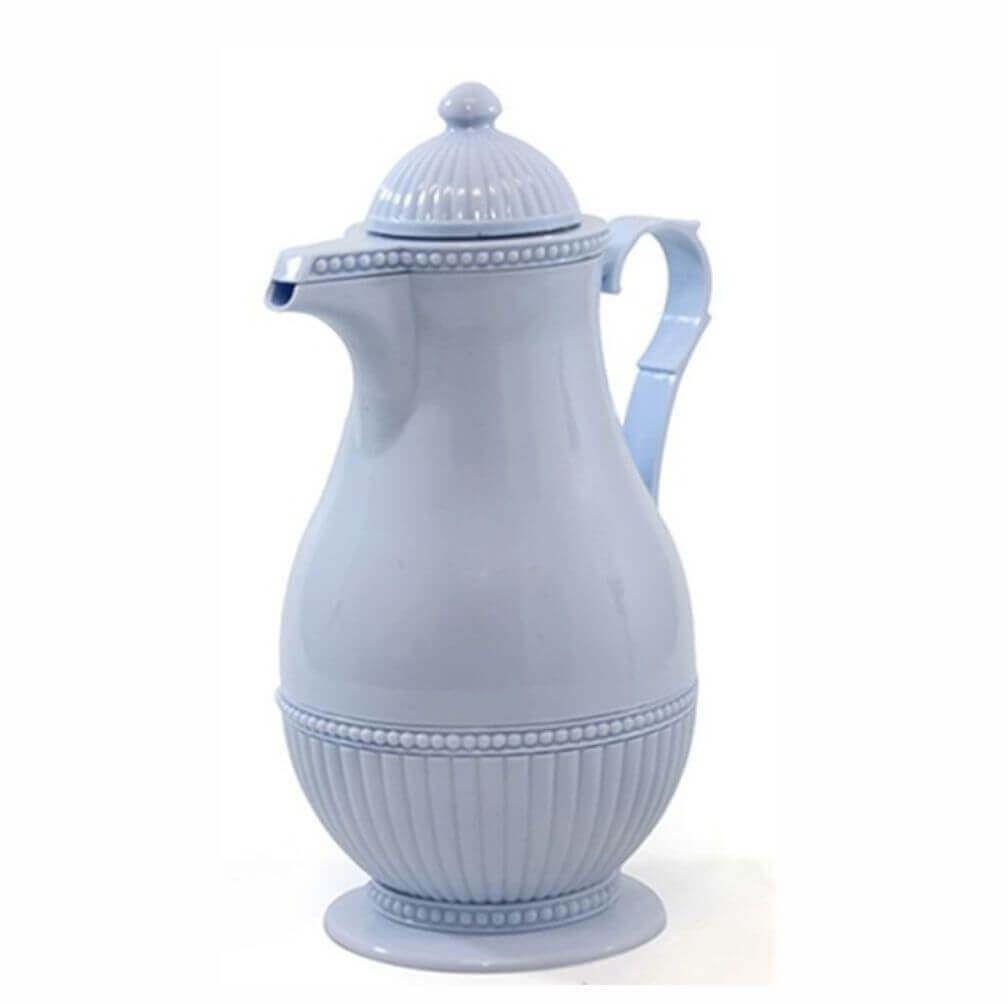 Garrafa Térmica Retrô Rice Azul