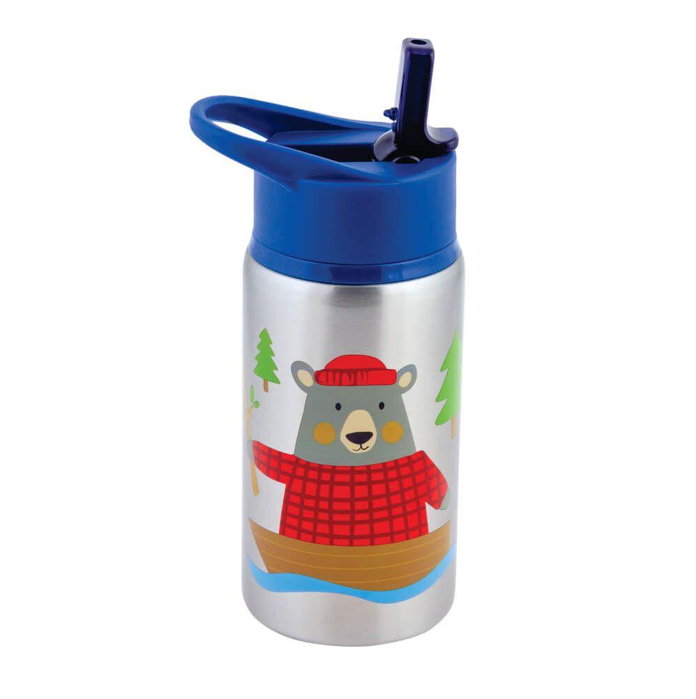 Garrafinha Infantil Urso em Inox - Stephen Joseph