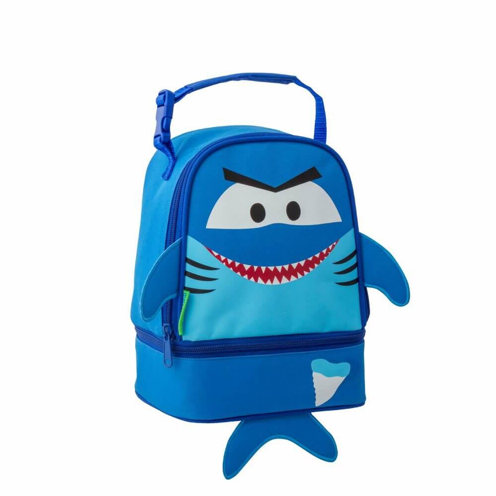 Lancheira Stephen Joseph Infantil Tubarão Azul