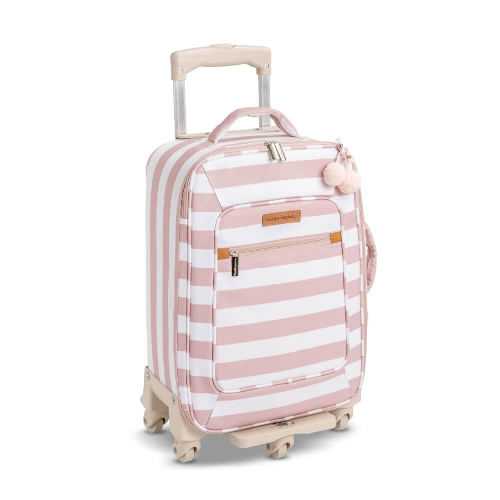 Mala de Rodinhas Brooklyn Rosa (1 Compartimento) - Masterbag Baby