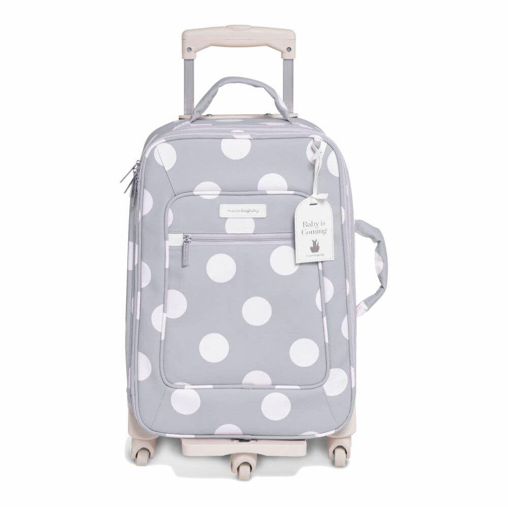 Mala de Rodinhas Bubbles Cinza (1 Compartimento) - Masterbag Baby