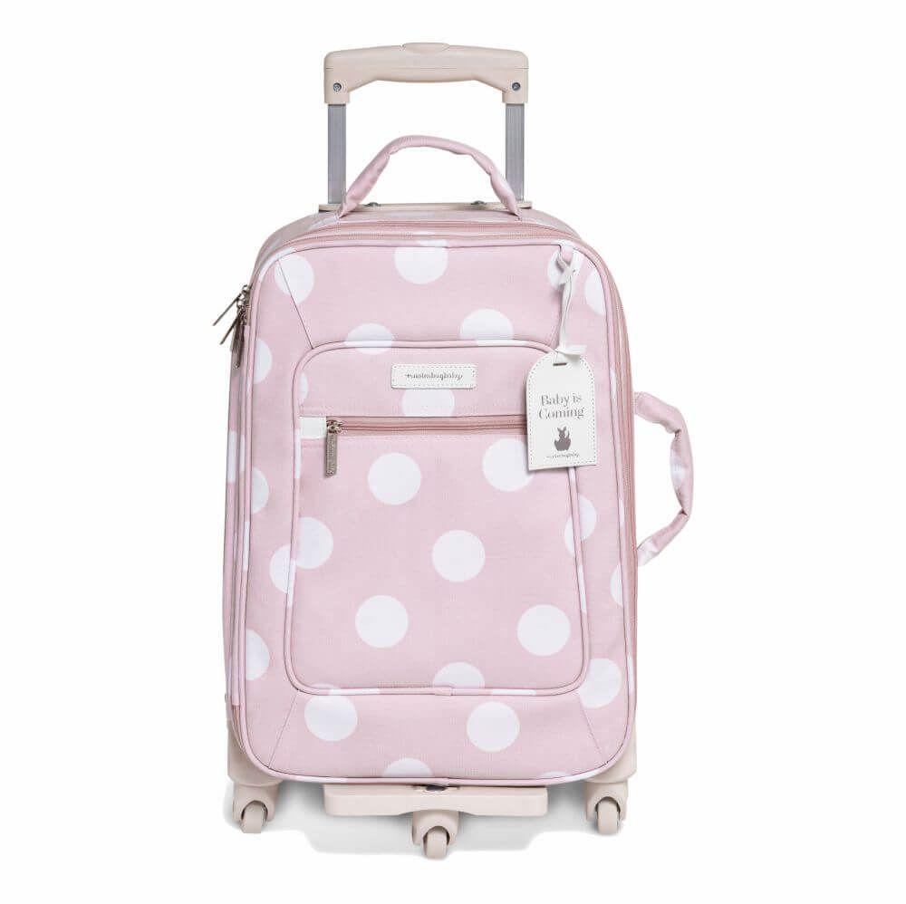 Mala de Rodinhas Bubbles Rosa (1 Compartimento) - Masterbag Baby