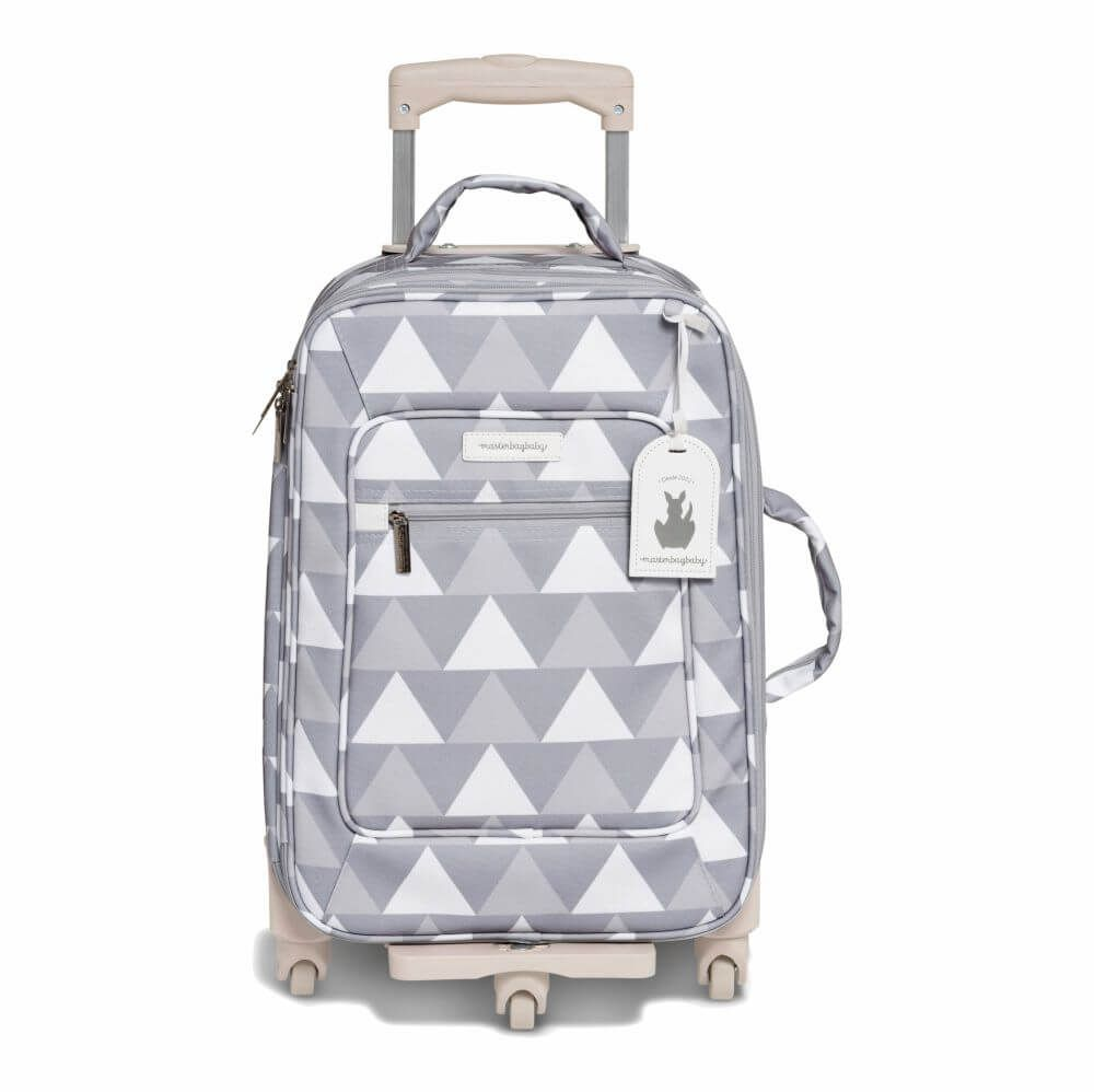 Mala de Rodinhas Nórdica Cinza (1 Compartimento) - Masterbag Baby