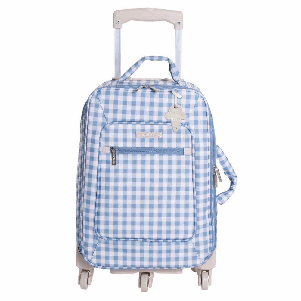 Mala de Rodinhas Sorvete Azul - Masterbag Baby