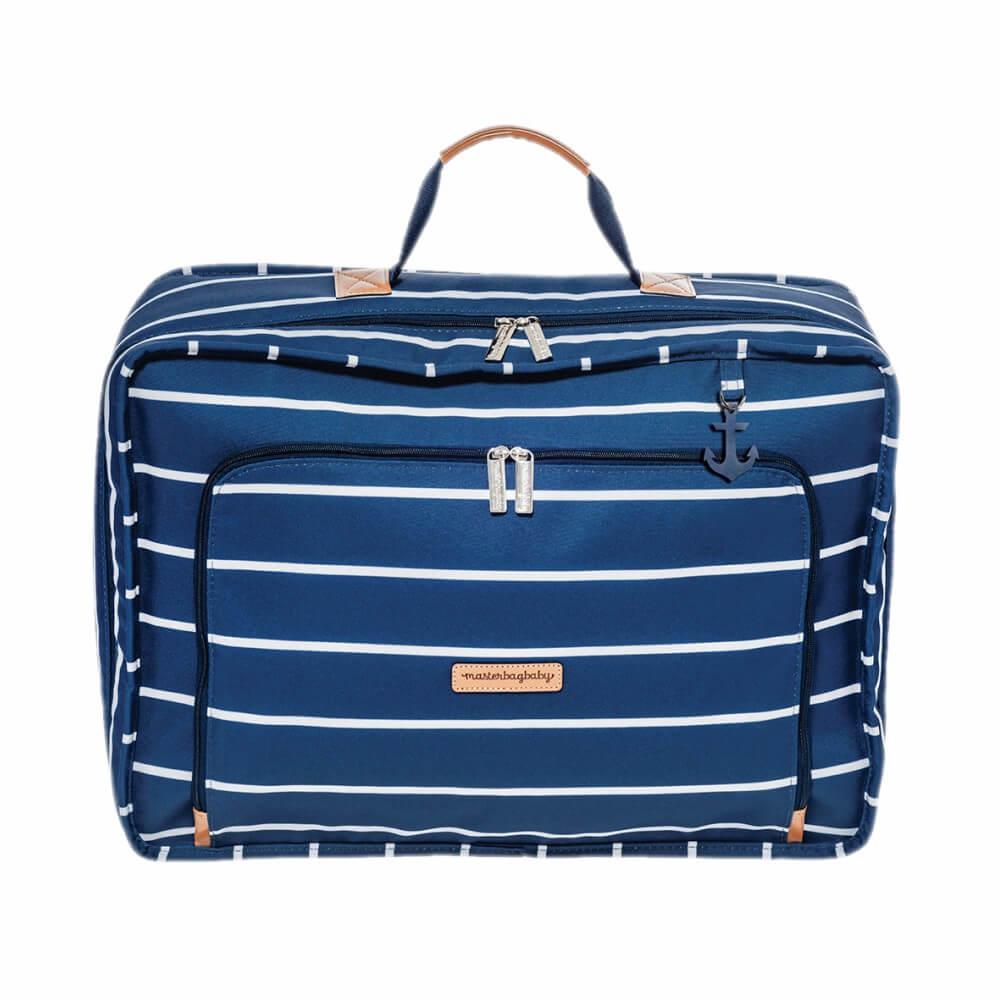 Mala Vintage Masterbag Baby Navy Azul Marinho