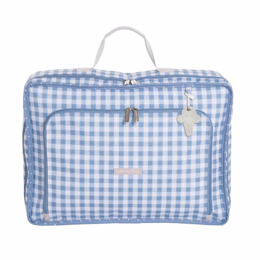 Mala Vintage Sorvete Azul - Masterbag Baby
