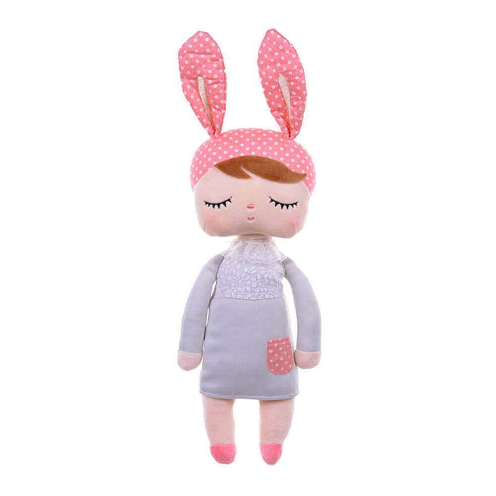 Metoo Doll Boneca Angela Gray Bunny