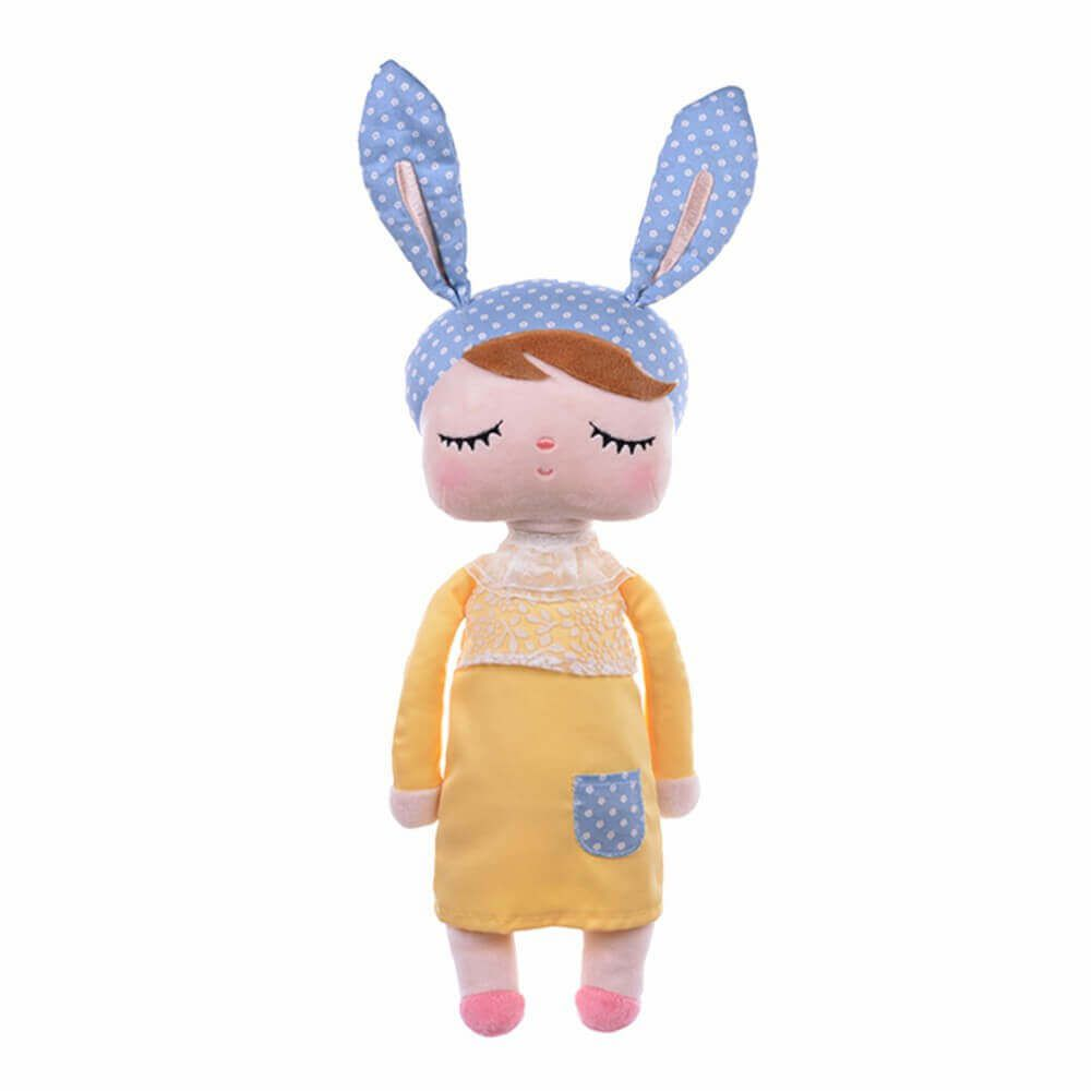 Metoo Doll Boneca Angela Yellow Bunny