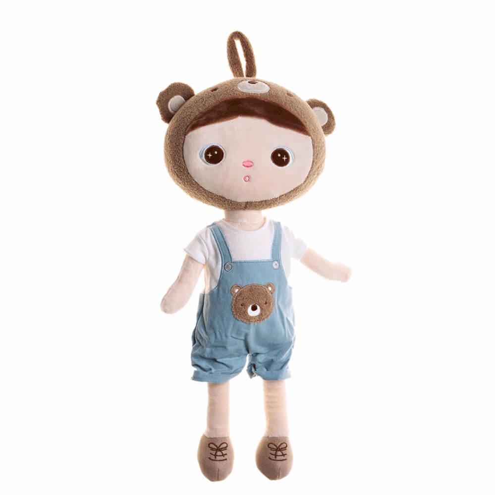 Metoo Doll Boneca Jimbao Boy Bear