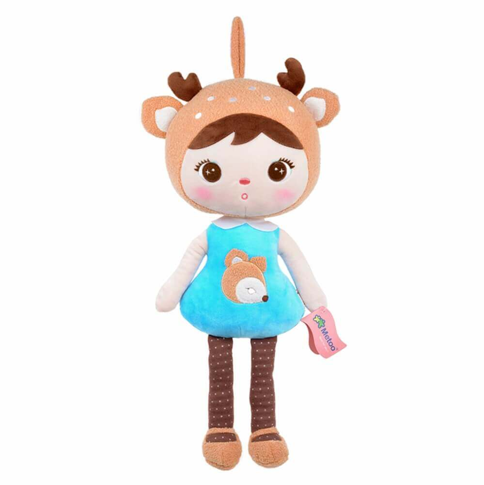 Metoo Doll Boneca Jimbao Deer Girl