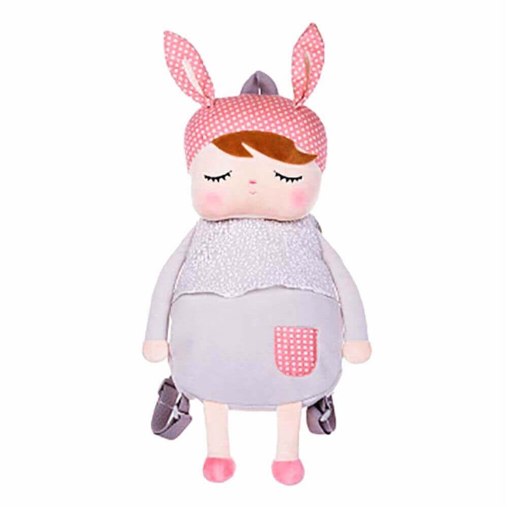 Metoo Doll Mochila Infantil Angela Gray Cinza