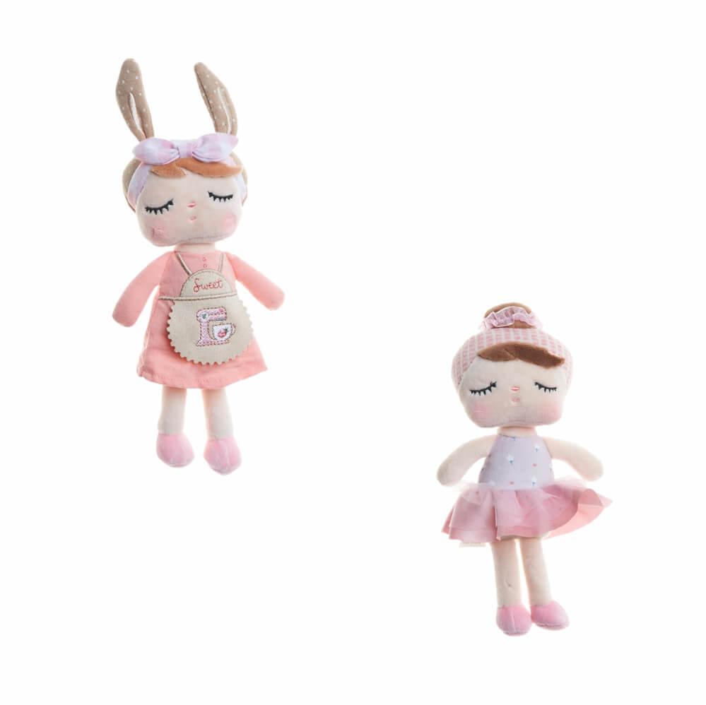 Mini Bonecas de Pelúcia - Metoo Dolls (Unidade)
