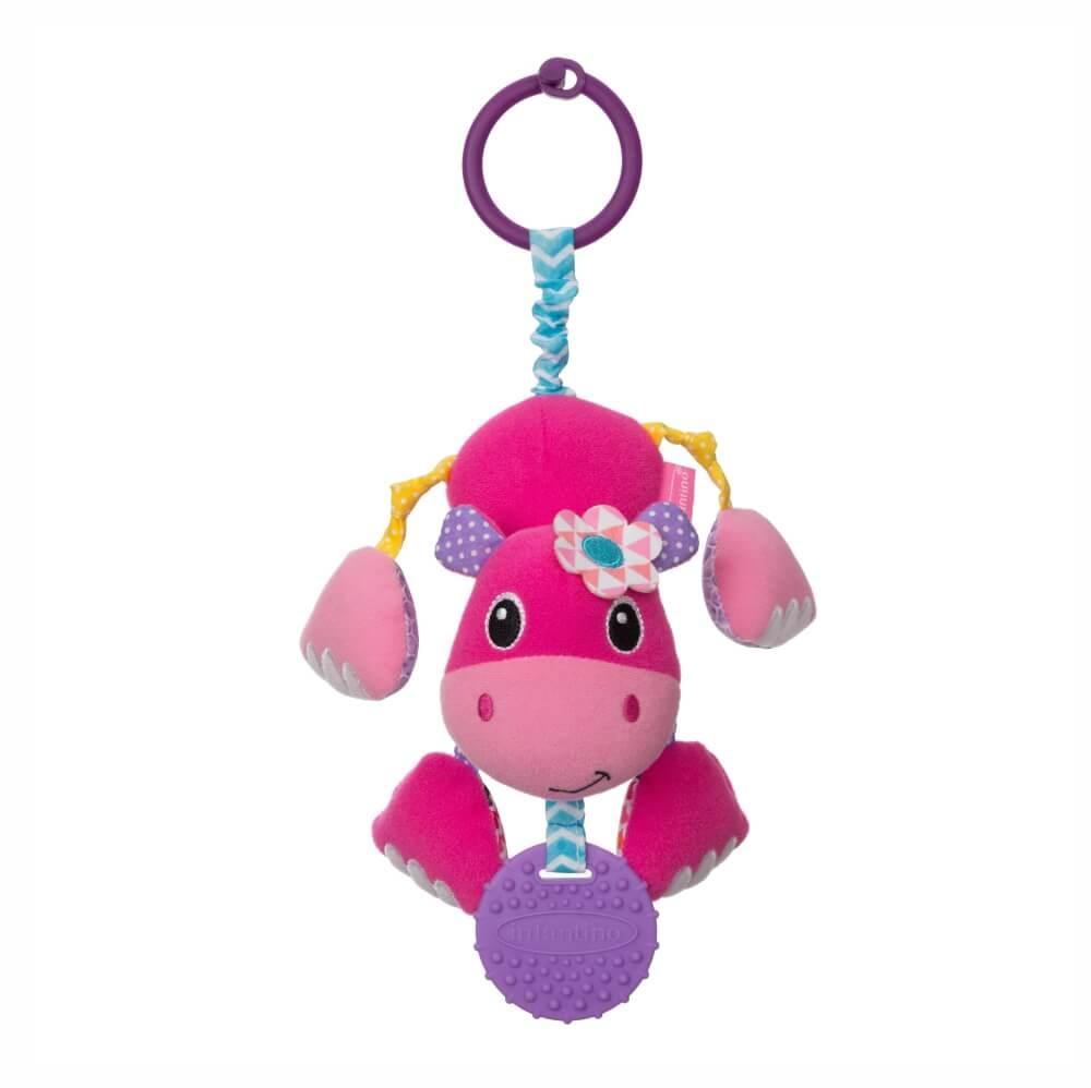 Mobile com Mordedor Hipopótamo - Infantino