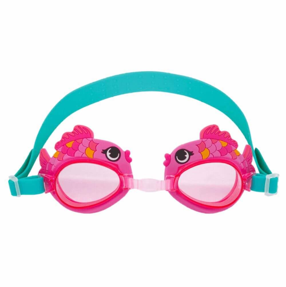 Óculos de Natação Stephen Joseph Peixe Rosa