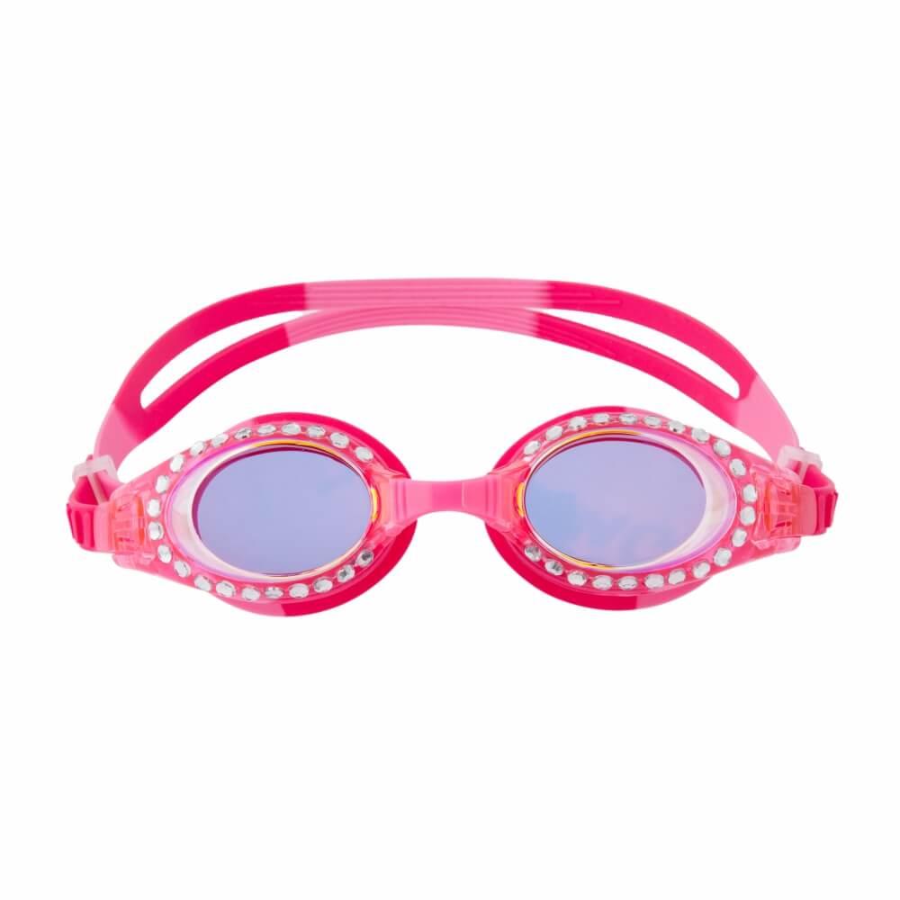 Óculos de Natação Stephen Joseph Pink com Brilho