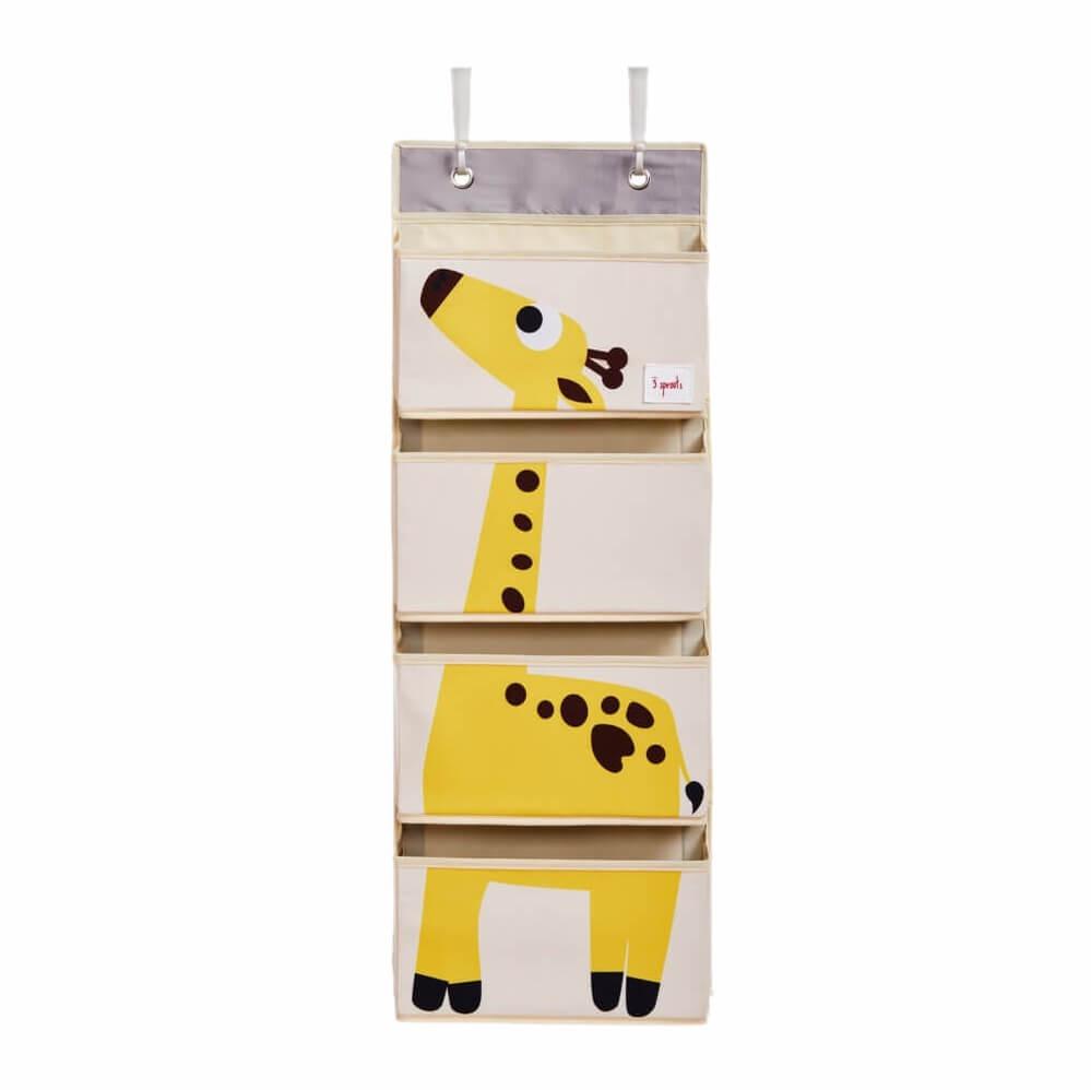 Organizador Infantil de Parede para Objetos Girafa - 3 Sprouts