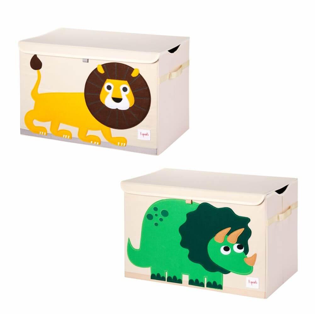 Organizador Infantil Retangular de Brinquedos (Unidade) - 3 Sprouts