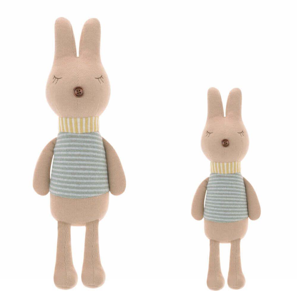 Pelúcia Metoo Doll Bunny Retrô Listras Nude (Unidade)