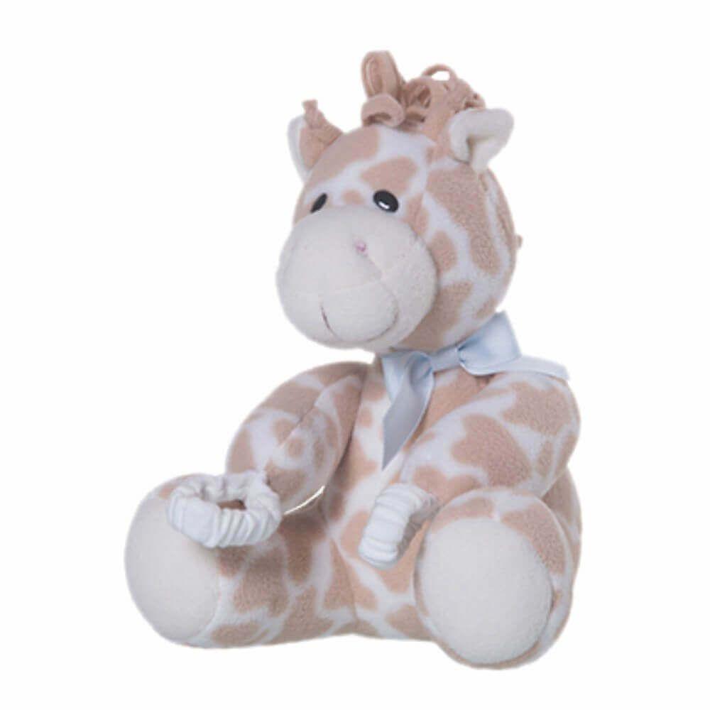 Pelúcia Para Proteção de Porta - Girafa Azul