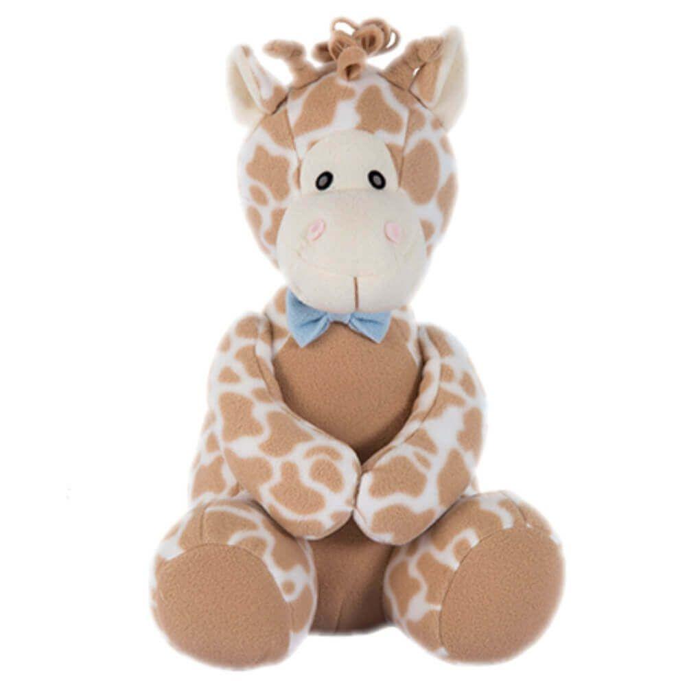 Pelúcia Peso de Porta - Girafa Azul