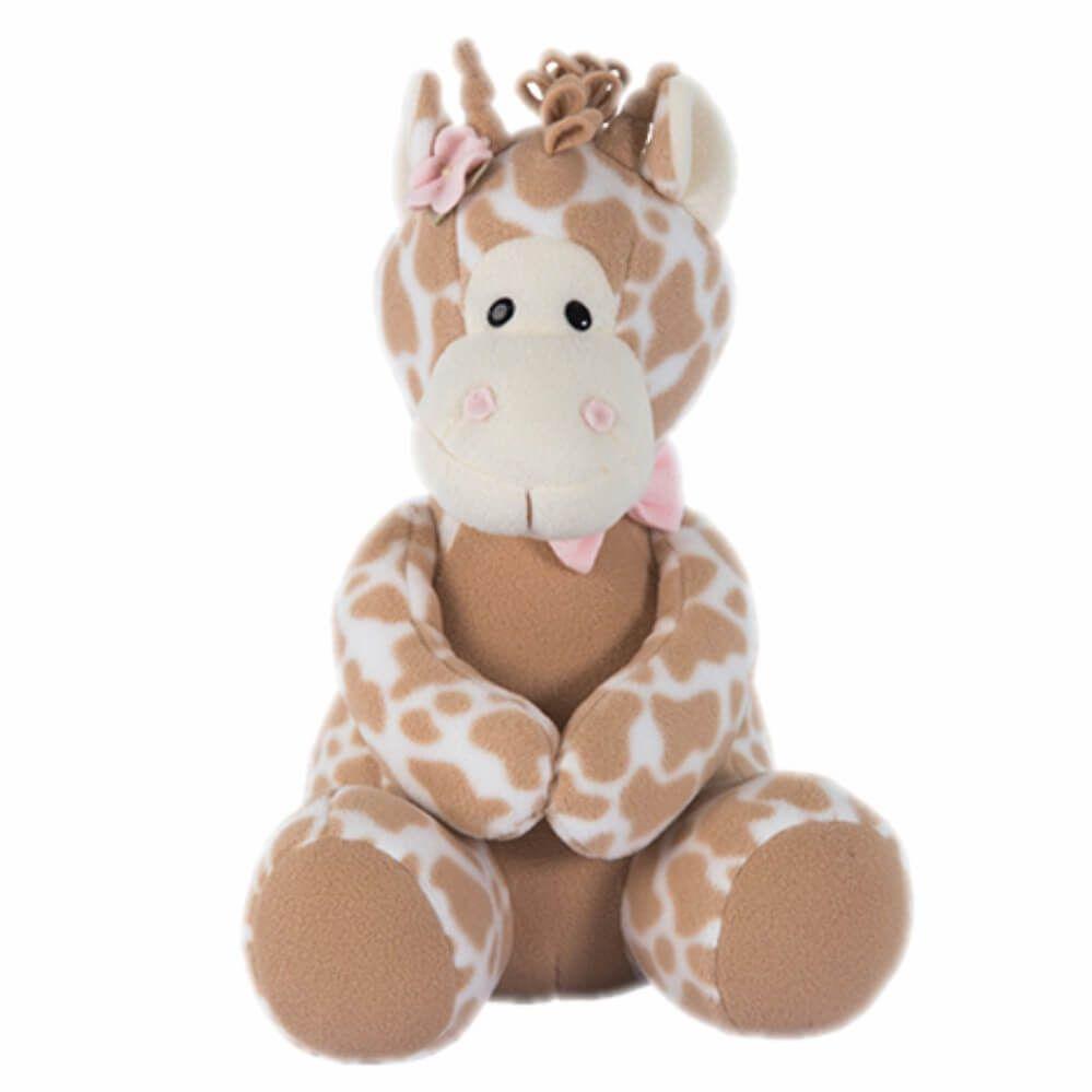 Pelúcia Peso de Porta - Girafa Rosa