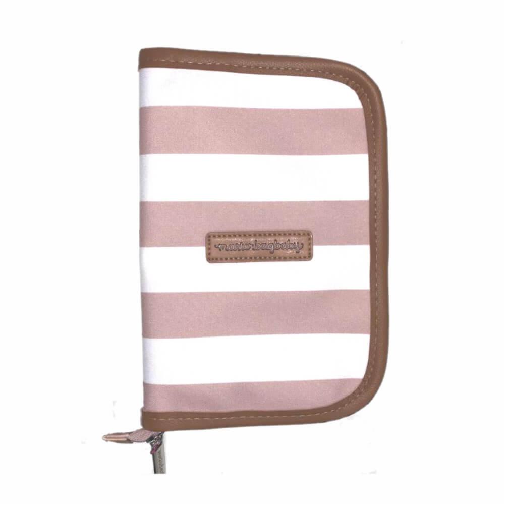 Porta-carteira de Vacinação Brooklyn Rosa - Masterbag Baby