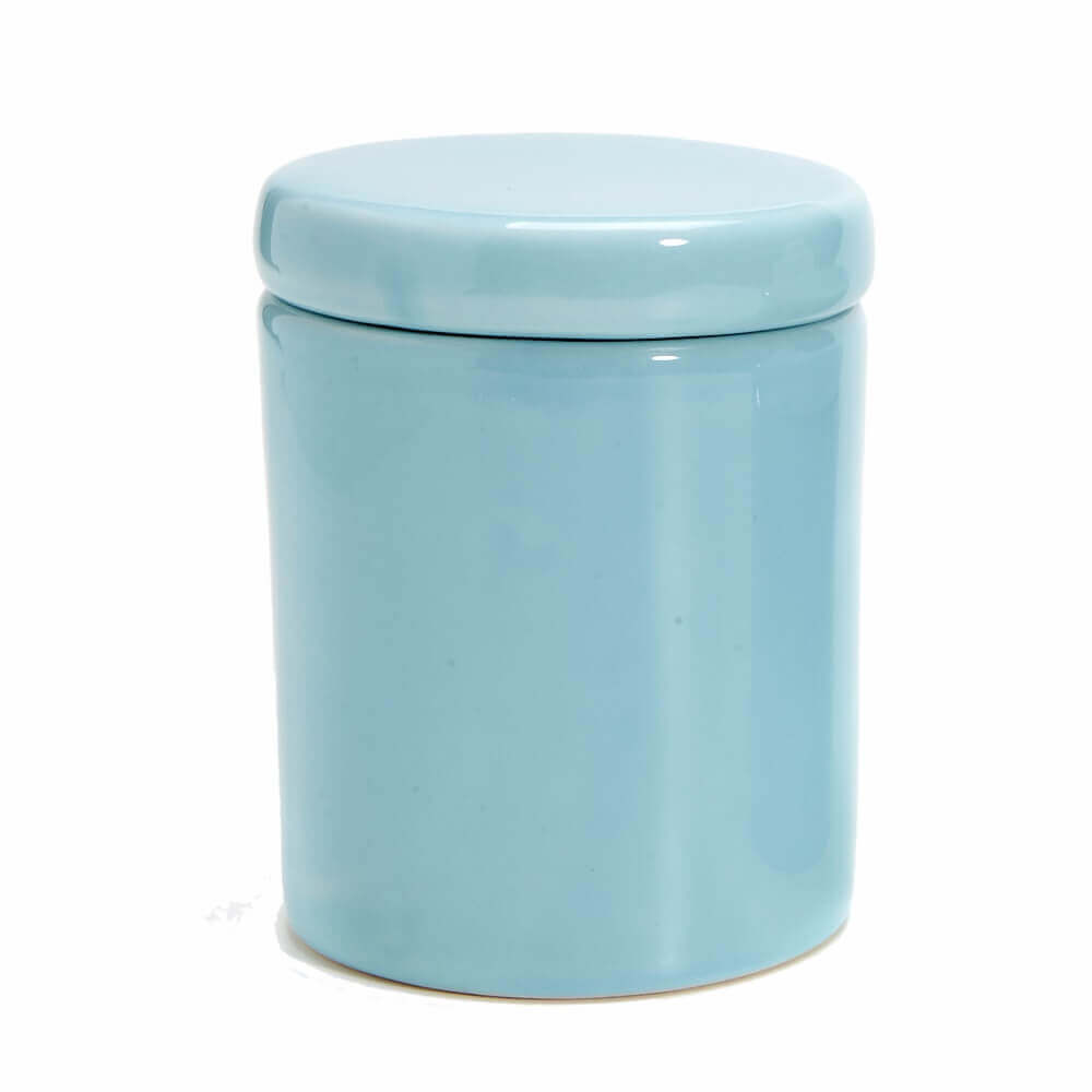 Pote Grande em Cerâmica Azul