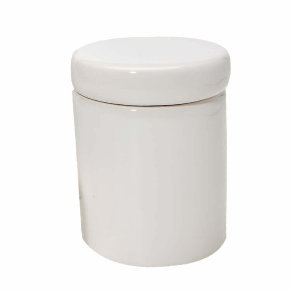 Pote Grande em Cerâmica Branca