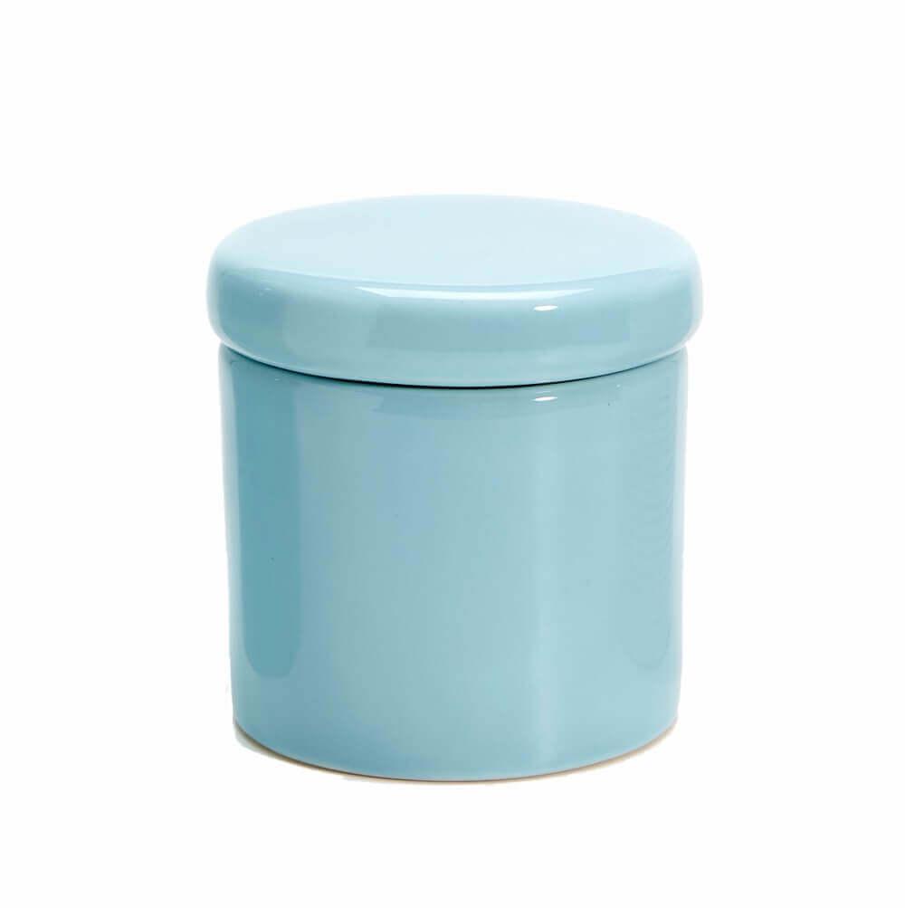 Pote Pequeno em Cerâmica Azul