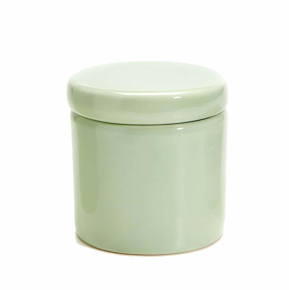 Pote Pequeno em Cerâmica Pistache